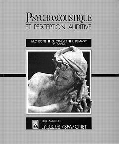 Couverture de l'ouvrage Psychoacoustique et perception auditive