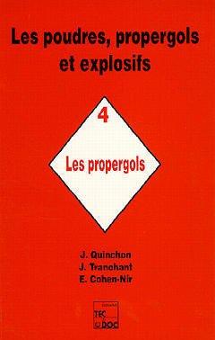 Couverture de l'ouvrage Les poudres, propergols et explosifs - Tome 4