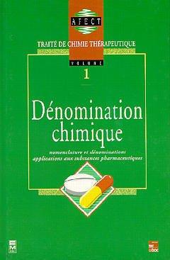 Couverture de l'ouvrage Dénomination chimique