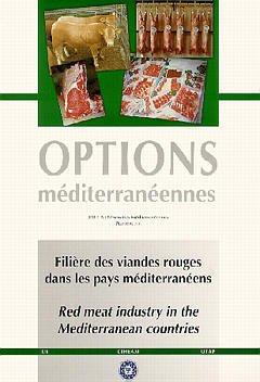 Couverture de l'ouvrage Filière des viandes rouges dans les pays méditerranéens / Red meat industry in the mediterranean countries (Options méditerranéennes Série A N°35)