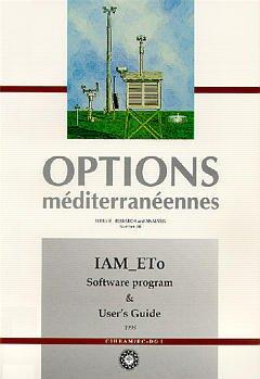 Couverture de l'ouvrage IAM-ETo, software program and user's guide