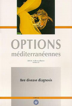 Couverture de l'ouvrage Bee disease diagnosis ( options méditerranéennes série B, N°25 )