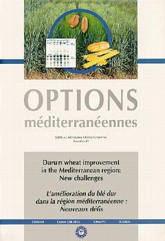 Couverture de l'ouvrage Durum wheat improvement in the mediterranean region: new challenges.L'amélioration du blé dur dans la région... (options méditerranéennes Série A N°40)