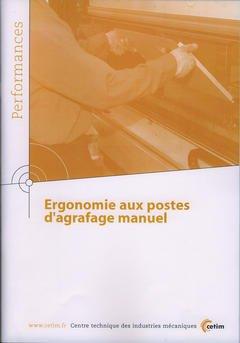 Couverture de l'ouvrage Ergonomie aux postes d'agrafage manuel (Performances, résultats des actions collectives, 9Q10)