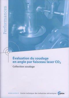 Couverture de l'ouvrage évaluation du soudage en angle par faisceau laser CO2