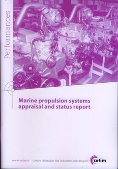 Couverture de l'ouvrage Marine propulsion systems appraisal and status report (Performances, 9Q117)