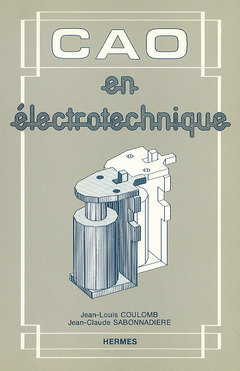 Couverture de l'ouvrage CAO en électrotechnique