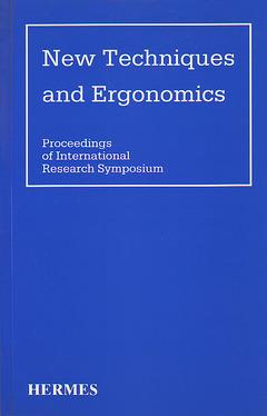 Couverture de l'ouvrage New techniques and ergonomics (proceedings of international research sympos.)