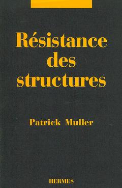 Couverture de l'ouvrage Résistance des structures