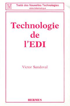 Couverture de l'ouvrage Technologie de l'EDI