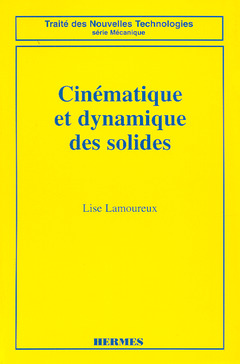 Couverture de l'ouvrage Cinématique et dynamique des solides