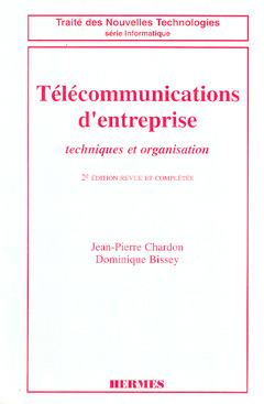 Couverture de l'ouvrage Télécommunications d'entreprise