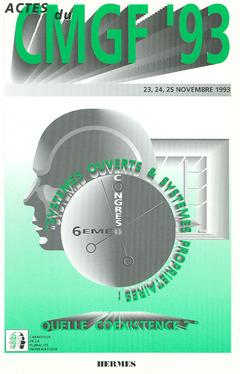 Couverture de l'ouvrage CMGF 93 : systèmes ouverts et systèmes prioritaires. Quelle coexistence ? 6ème congrès
