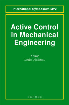 Couverture de l'ouvrage Active control in mechanical engineering