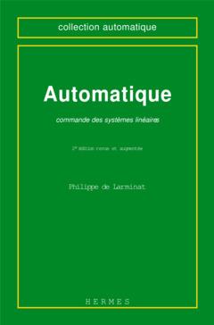 Couverture de l'ouvrage Automatique : commande des systèmes linéaires (2° Ed.)