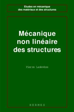 Couverture de l'ouvrage Mécanique non linéaire des structures