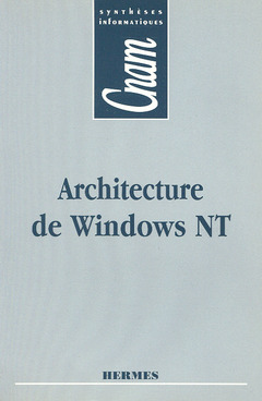 Couverture de l'ouvrage Architecture de Windows NT