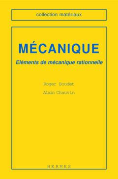 Couverture de l'ouvrage Mécanique