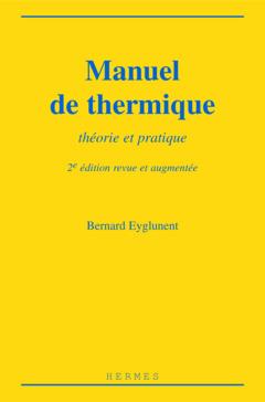 Couverture de l'ouvrage Manuel de thermique