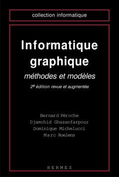 Couverture de l'ouvrage Informatique graphique
