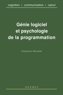 Couverture de l'ouvrage Génie logiciel et psychologie de la programmation