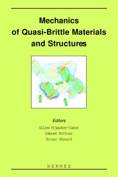 Couverture de l'ouvrage Mechanics of quasi-brittle materials and structures