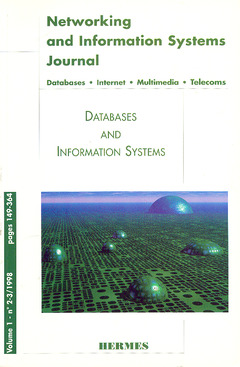 Couverture de l'ouvrage Databases and information systems (Networking and information systems journal Vol.1 N°2-3 1998)