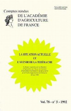 Couverture de l'ouvrage La situation actuelle & l'avenir de la thiérache (Vol.78 - N°5 - 1992)
