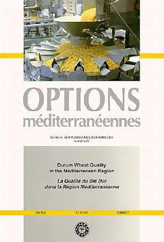 Couverture de l'ouvrage Durum wheat quality in the mediterranean region/La qualité du blé dur dans la région méditerranéenne(Options méditerranéennes Série A N°22) Bilingue