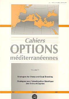 Couverture de l'ouvrage Stratégies for sheep and goat breeding/ stratégies pour l'amélioration génètique des ovins et caprins(Cahiers Options méditerranéennes Vol.11 1995)