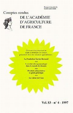 Couverture de l'ouvrage La fondation Xavier Bernard (Comptes rendus de l'AAF Vol.83 N°4 1997)