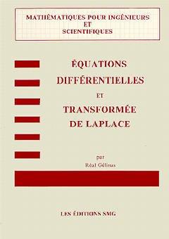 Couverture de l'ouvrage Equations différentielles & transformée de Laplace