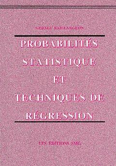 Couverture de l'ouvrage Probabilités, statistique et techniques de régression