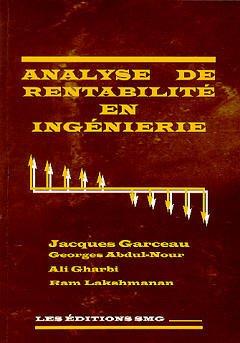 Couverture de l'ouvrage Analyse de rentabilité en ingénierie (avec CD-ROM)