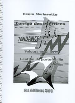 Couverture de l'ouvrage Valeurs mobilières et gestion de portefeuille : Corrigé des exercices,