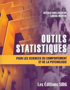 Couverture de l'ouvrage Outils statistiques pour les sciences du comportement et de la psychologie avec CD-ROM (Fichiers Excel et SPSS)