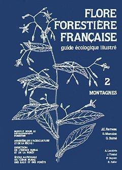 Couverture de l'ouvrage Flore forestière française