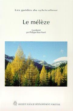 Couverture de l'ouvrage Le mélèze