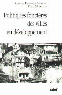 Cover of the book Politiques foncières des villes en développement