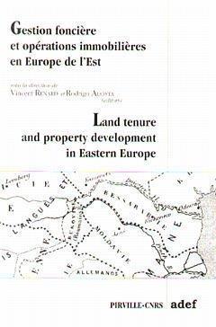 Couverture de l'ouvrage Gestion foncière et opérations immobilières en Europe de l'Est