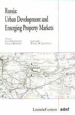 Couverture de l'ouvrage Russia: urban development and emerging property markets
