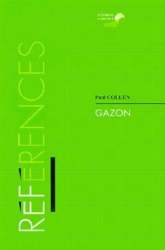 Couverture de l'ouvrage Gazon