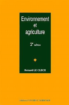 Couverture de l'ouvrage Environnement et agriculture