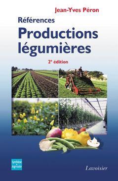 Couverture de l'ouvrage Références Productions légumières, 2e éd. (retirage corrigé 2009)