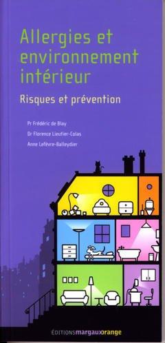 Couverture de l'ouvrage Allergies et environnement intérieur :