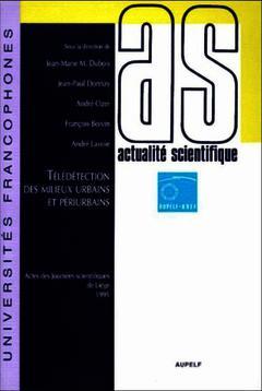 Cover of the book Télédétection des milieux urbains et péri-urbains