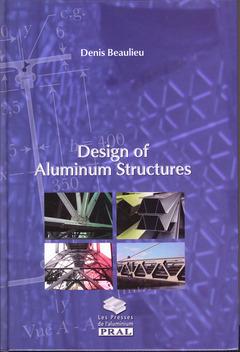 Couverture de l'ouvrage Design of aluminium structures