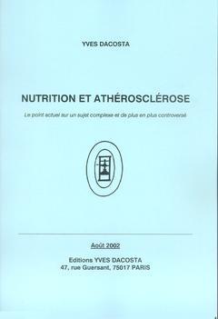 Couverture de l'ouvrage Nutrition et athérosclérose