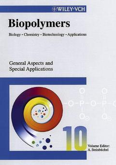 Cover of the book Biopolymers. Volume 10 : General aspects & special applications