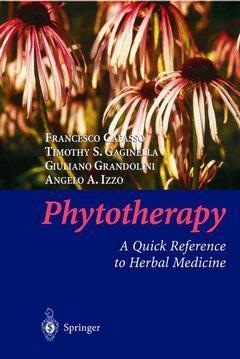 Cover of the book Phytotherapy : a quick reference to herbal medicine